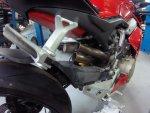 DUCATI PANIGALE V4 AVIONIC N TEK MOTORS Exhaust Project rear manifold cuted.JPG